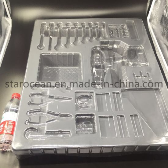 Plastic Package PVC Product Packaging Tray for Optoelectronics (more than 1.2m)