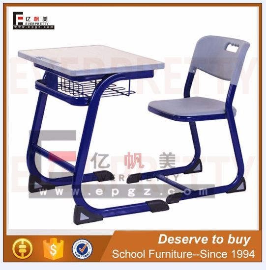 china modern school furniture classroom desk and chair for students