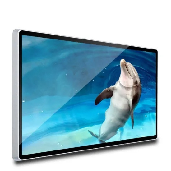 75 Inch Hot Sale Wall Mounted Advertising Display LCD Android Smart TV with LG Panel
