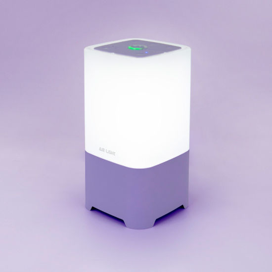 Anti-Bacterial Air Purifier Combine with LED Light Air Automatic Monitoring System
