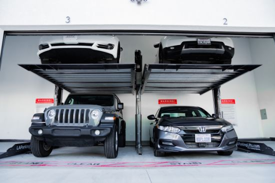CE Approved Two Post Hydraulic SUV Car Parking Lift