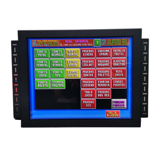Embedded 19 Inch 1280 * 1024 Pog 3m Gambling Touch Screen Monitor Open Frame Touch Monitor