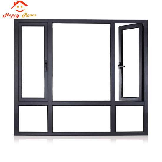 China Factory Good Quality Modern Style Wholesale Customizable Double Glass Aluminum Aluminium Casement Windows