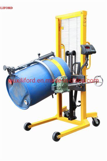 Factory Price Da450 Hydraulic Drum Stacker & Rotator with 450kg Capacity