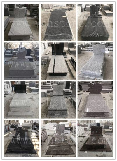 Simple Europe Style Chinese Granite Tombstone/ Headstone/Momument for Ceremony (G654/G603/G664/G439)