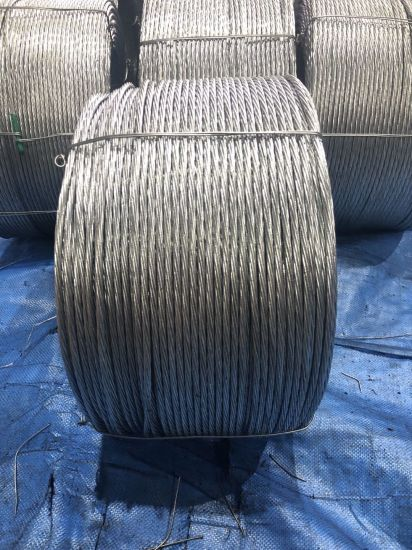 ASTM A475 Galvanized Steel Wire / Guy Wire/ Stay Wire