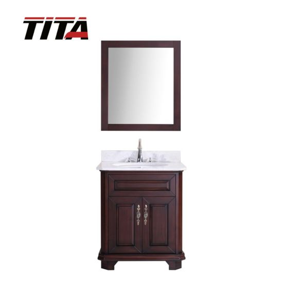 Solid Wood Antique Style Bathroom Vanity T9314-24/30A
