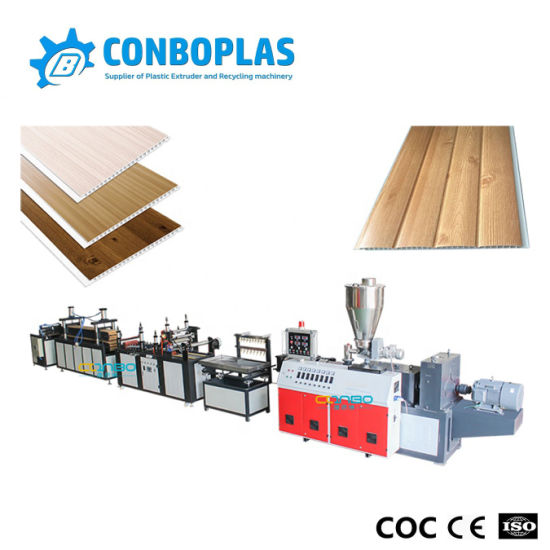 250mm Hollow Plastic PVC Ceiling Panel Production Line