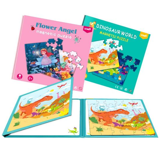 Cartoon Animals Design Portable Book Design Jigsaw Puzzle for Kids Gift pictures & photos
