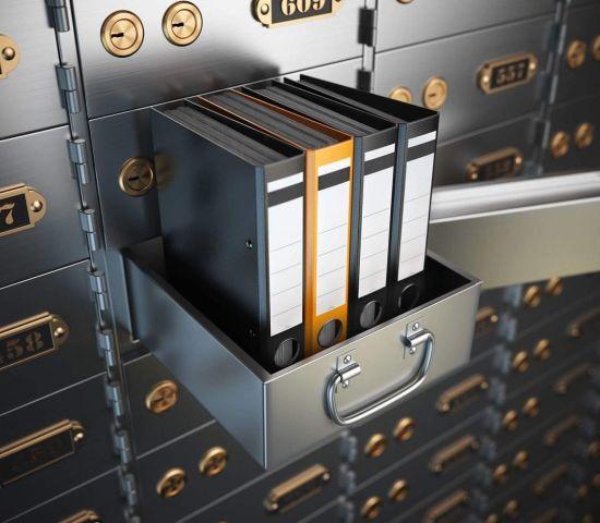 China OEM Factory Price Bank Safe Deposit Box Vault Hotel Private Bank  Locker - China Safe Deposit Locker and Safe Locker Boxes price