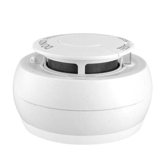 a Smart Wireless Fire Cigarette Smoke Alarm with High Sensitive Carbon Monoxide Sensor for Hotel pictures & photos