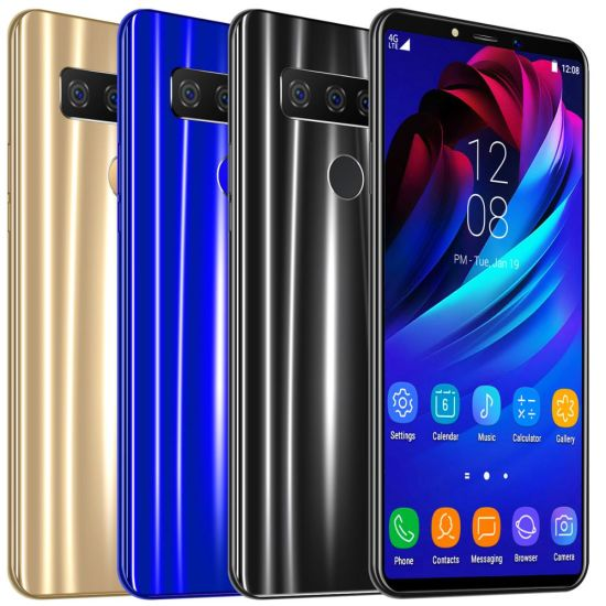 """Android S10 Mobile Phone 6.1""""Inch Otca Core Smartphone Android OS 9.1cellphone"""
