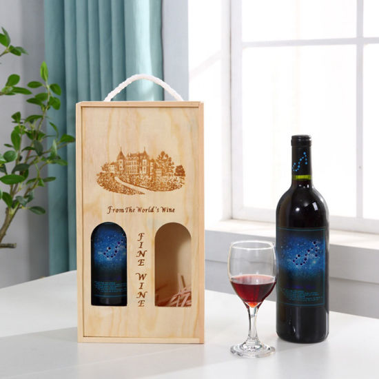 Wholesale Custom Humidity Control Moisture Proof Wooden and Bamboo Wine Box