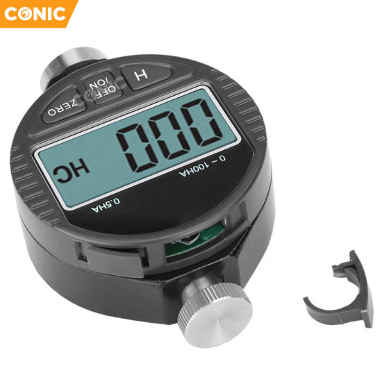 Mini Digital Shore A Hardness Tester Tyre Meter Durometer Thermo 100HA