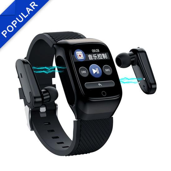 Free Sample Wholesale Ear Hooks Style True Wireless Bluetooths Headphone
