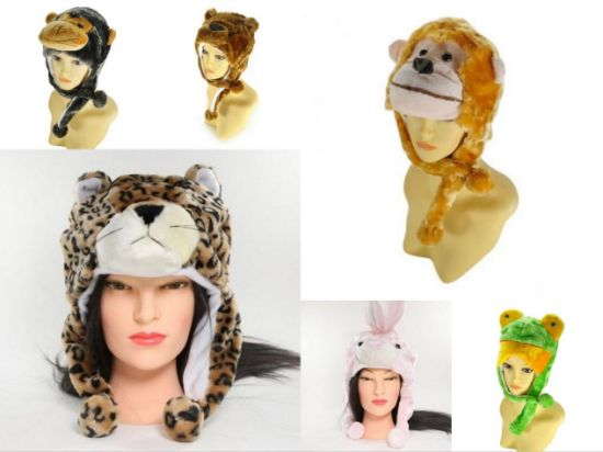 Cute Cartoon Animal Plush Cap Hat