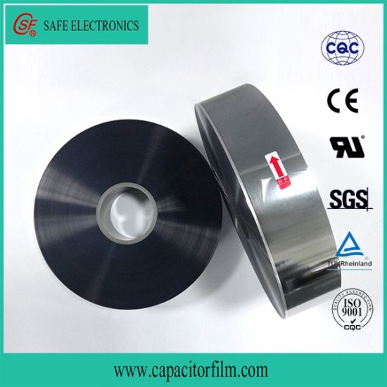 Aluminum Metallized Polyester Film for Capacitor Use