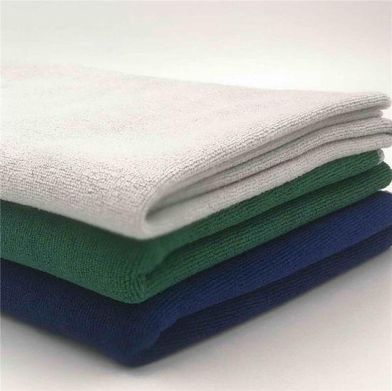 Microfiber Tea Towel Wholesale Jacquard Cleaning Dish Cloth