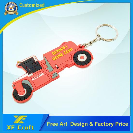 China Custom Soft Pvc Rubber Car Shape Key Chain With Logo Design Kc P10 China Key Ring And Key Holder Price