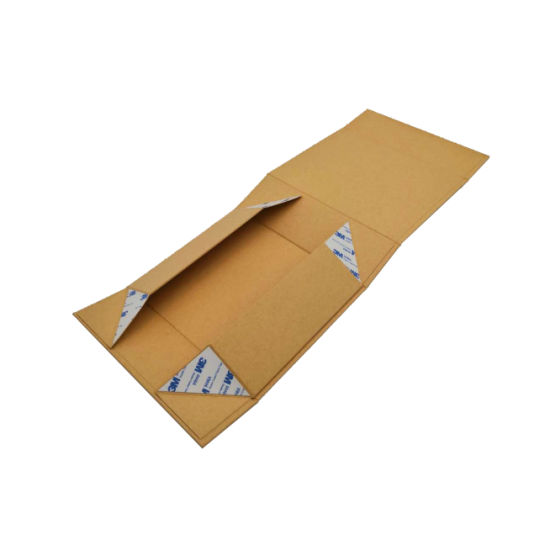 Thick Gift Box Packaging Small Kraft Folding Rectangle Box With Magnets