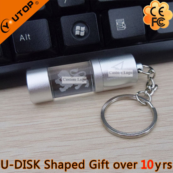 Outstanding Crystal Promotion Gifts Round Bottle Luminous USB (YT-3270-08) pictures & photos