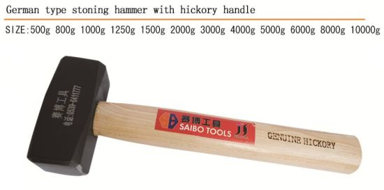 Stone Hammer Good Quality Stoning Hammer with Wooden Handle pictures & photos