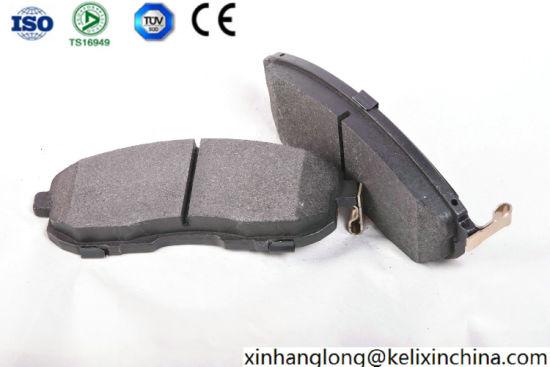 High Quality Auto Car Parts Low-Metal, Semi-Metal, Ceramic Disc Brake Pad for Infiniti /Nissan D815