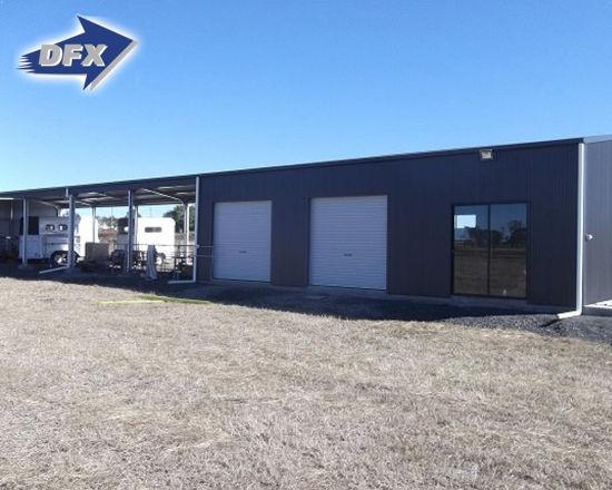 Flexible Design Prefabricated Steel Structure Car Garage