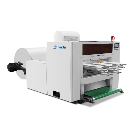 Feida Exclusive Paper Roll Punching Machine for Roll Paper Cup, Paper Tray