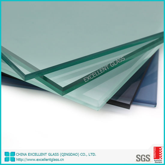Safety Tempered Laminated Glass with ISO&SGS&AS/NZS Certificate