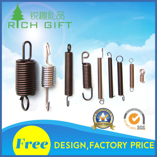 Custom Small Wire Zinc Plated Metal Torsion/Compression Spring pictures & photos
