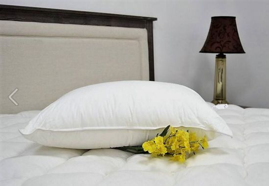 Home Textile White Bedding Sleeping Pillow pictures & photos