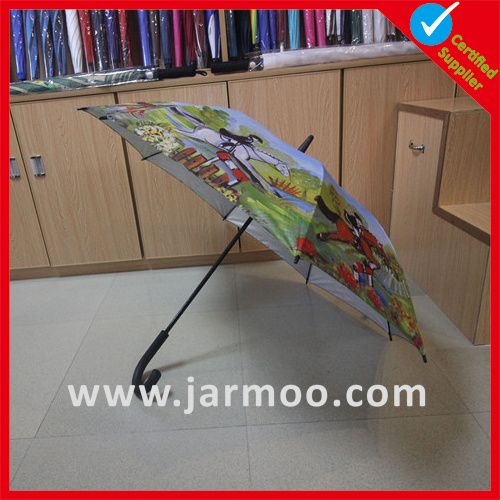 Advertising 32′ Inch 8k Fiberglass Double Layer Golf Umbrella pictures & photos