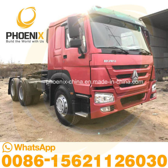 Good Condition 371HP 6*4 Sinotruk 10 Tyres Used HOWO Trailer Head Tractor Trucks with Low Price for Africa Sales