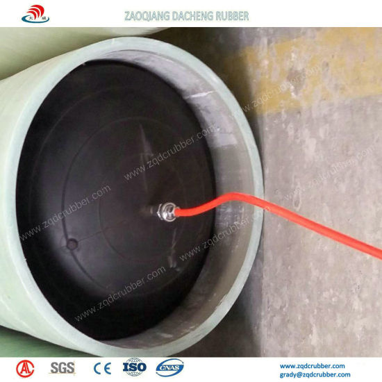 High Pressure Rubber Pipe Plugs for Sewage Pipeline