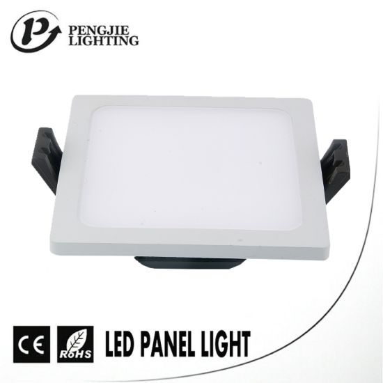 Popular Energy Saving 8W Ultra Narrow Edge LED Panel (Square) pictures & photos