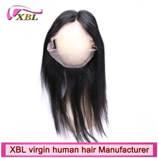 Virgin Brazilian Human Hair Hot 360 Full Lace Frontal Closure pictures & photos