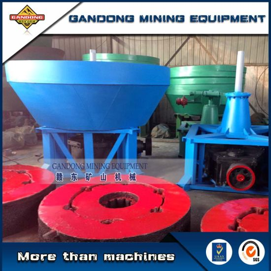 High Quality Gold Pan Mill for Stone Gold Ore pictures & photos