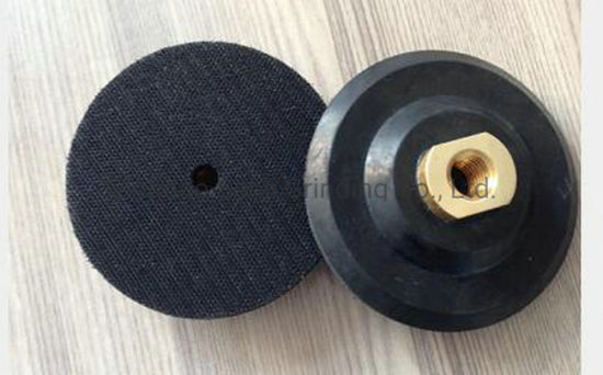 """3' M14/5/8""""-11 Thread Back Pad/Rubber Backer Pads / Holder Pads / Back up for Polishing Pads"""