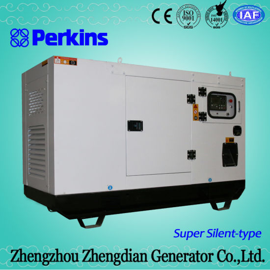 China 24kw 30kVA Perkins Diesel Generator Set Price - China