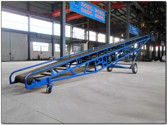 Automated Portable/Mobi/Mobile Belt Elevating Material Handling/Conveyor Systems pictures & photos
