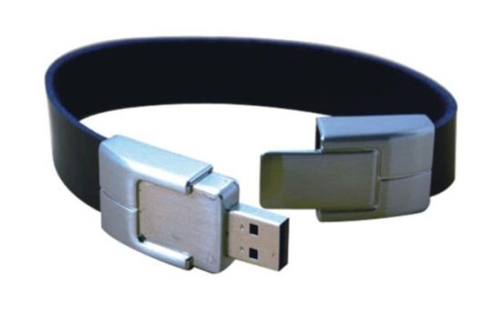 Leather Bracelet USB Flash Drive with Your Logo pictures & photos