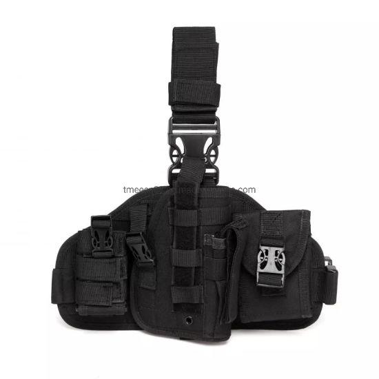 Millitary Painball Airsoft Police Molle Glock Gun Drop Leg Waist Belt  Pistol Holster