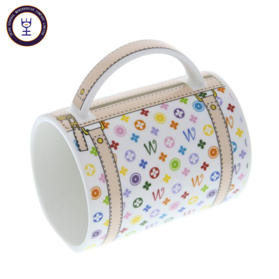 Wallet Design Ceramic Mug with Full Wrapped Printing