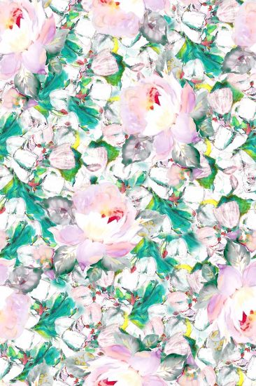 Floral Pattern For Digital Printing Silk Cdc Fabric China