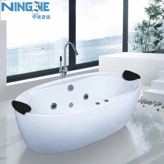China Bathroom Fuiniture Sanitary Ware Morden Acrylic Bath Tub ...
