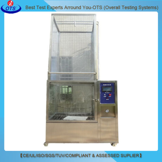 IEC60529 IEC60598 Waterproof Rain Spray Chamber for Ipx5 Ipx6 Testing