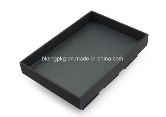 Brushed PU Leather Bracelet Jewelry Display Tray pictures & photos