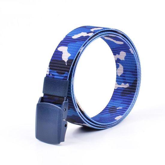 2018 Designer Camouflage Printing Nylon Buckle Tactical Belt (RS-17001)