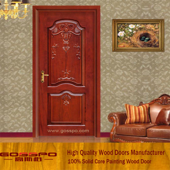 Solid Wood Carving Design Antique Door GSP2 016